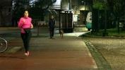 Com a ida à rua sem máscara liberada, portenhos saíram pra correr