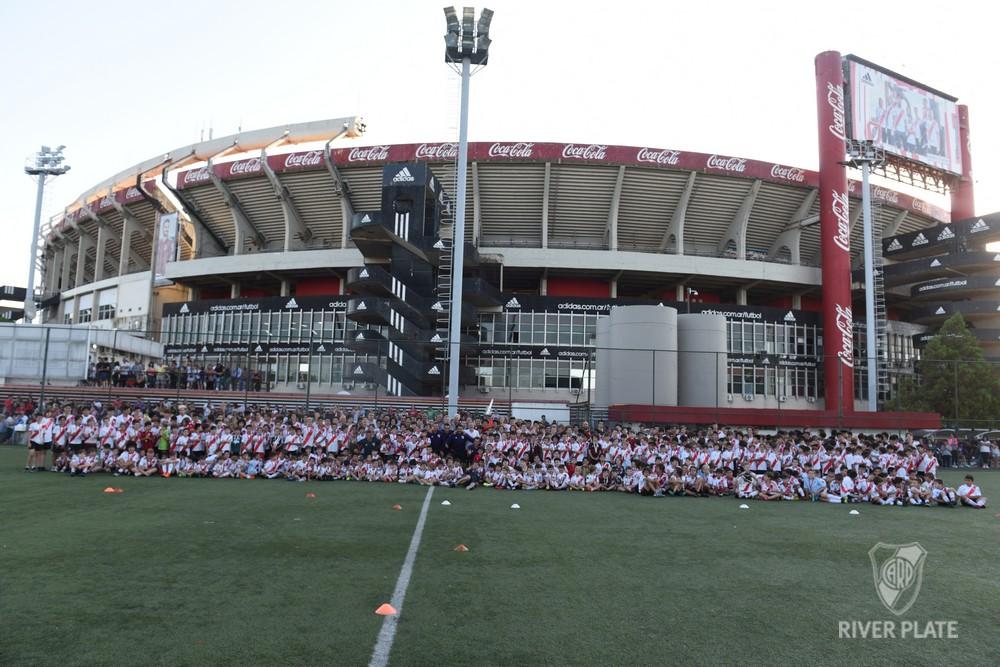 O estádio do River Plate, no bairro portenho de Nuñez