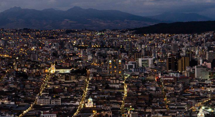 Quito à noite