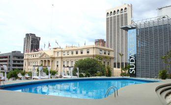 fachada do hotel Guarany