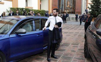 Messi pronto para receber Bolsa de Ouro