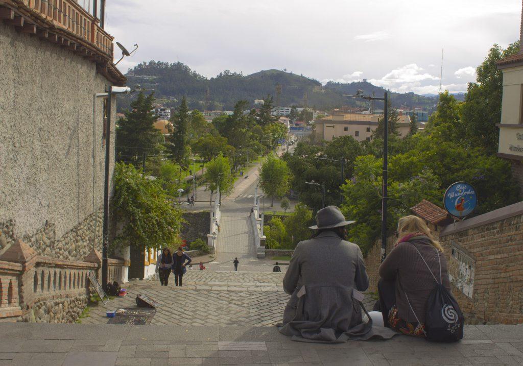 Cuenca patrimônio cultural da humanidade. Escalinatas