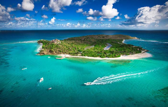 Necker Island, turismo em modo privativo