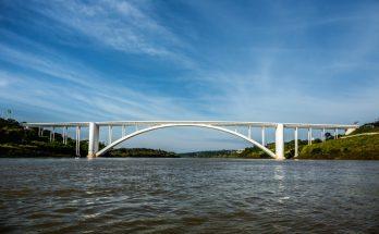 Abertura da Ponte da Amizade