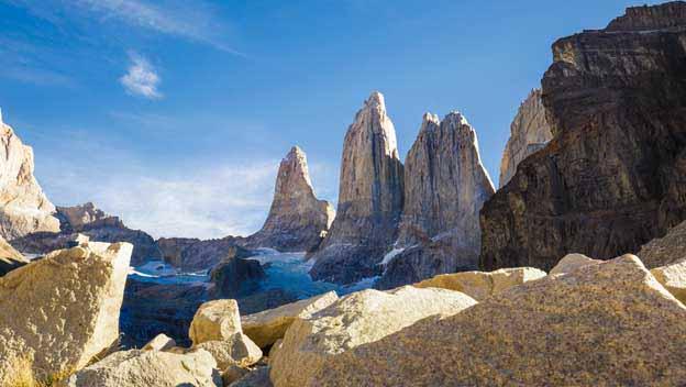 Torres del Paine rebare
