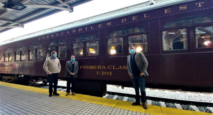 Tren del Recuerdo volta a viajar