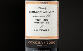 Concha y Toro entre as 100 melhores vinícolas do Ano