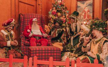 O Papai Noel é o morador mais ilustre do Casa da Montanha até o final de janeiro Marcos Moreira/Casa Hotéis