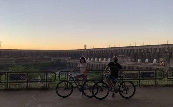 Itaipu by bike nova op;áo de passeio
