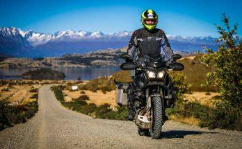 Viagem de moto pelo sul do Chile na TV